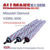 Desgaste - Printing resistente Rubber Roller para Mitsubishi Diamond V3000L-5000