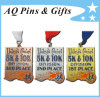 Soft su ordinazione Enamel Medal con V Shape Ribbon