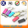 Muestra Gratis Mini Twister Pendrive USB , 2014 nuevo estilo giratorio de metal USB Flash Drive