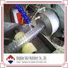 Extrusão reforçada da mangueira do fio de aço do PVC que faz a máquina