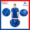 Gewatteerde Healong en het Overhemd van het Polo van de Mensen van het Borduurwerk