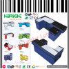 Supermarkt-Bargeld-Schreibtisch-Prüfungs-Kostenzähler mit Riemen