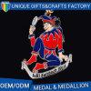 Alta medaglia polacca del premio di sport del metallo con Nizza stile