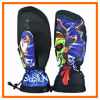 Guante de calidad superior del esquí del diseño de moda 2014