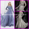 Длинние платья вечера шифоновый a втулок - линия платья T21402 выпускного вечера V-Back официально
