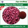 Poudre rouge d'extrait de riz de levure