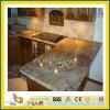 Stone naturel Polished Galactic Blue Granite Countertop pour Kitchen/Bathroom (YQC)