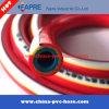 Tuyau de pulvérisation à air tressé renforcé en fibre haute pression en plastique PVC