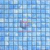 Vinger Schilderen Blauwe Kristallen Badkamer Mozaïek (CFC176)