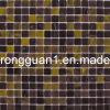 Mattonelle di mosaico di vetro per materiale da costruzione decorativo (MC574)