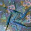Ggt de seda impresso no projeto da flor