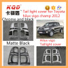 Qualité Plastic ABS Chrome Accessories pour Toyota Headlamp et Tail Lamp Chrome Cover pour Toyota Hilux Vigo Partie