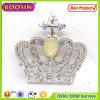 2016 de Europese Tsjechische Zilveren Broche van de Kroon van het Kristal Dwars