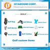 昇進のギフトデザインのための2016のゴルフ製品によってカスタマイズされる項目ゴルフ用品袋ロゴのテキストの卸売