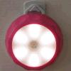 Lâmpada infravermelha sem fio da noite do corredor da luz da noite do sensor do corpo da indução de 6 diodos emissores de luz