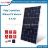 Kristallene Silikon PV-Baugruppen-Sonnenkollektor-Sonnenenergie-Polyfirmen