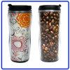 Tasse de café en plastique promotionnelle, tasse de voyage (R-2074)