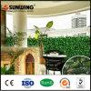 정원 훈장 옥외 Landsacaping 녹색 플라스틱 담 벽