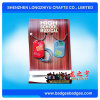 熱い販売のペーパーパッキングカードが付いているアルミニウム印刷のエポキシのドッグタッグ