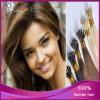 Extensão indiana do cabelo do Nano-Anel do cabelo do Virgin da venda por atacado da boa qualidade