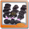Cabelo humano de Remy do cabelo de Brazilan da classe de Aaaaaaa