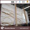 Nuove mattonelle della lastra del marmo dell'oro di Sofit con buona qualità
