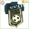 Custom poco costoso Soccer Sport Metal Medal con Ribbon