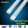 CE/FCC/RoHS/EMC/LVD 1.2m/4ft 22W T8 LED Tube Lamp