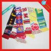 Изготовленный на заказ конструкции шарфа сатинировки спортов Acrylic