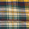 Un Side Brushed Yarn Dyed Cotton Woven Flannel per Garment