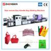 Sac non tissé neuf de la technologie Zxl-E700 faisant la machine de sac à provisions de machine