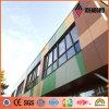 Veelvoudige Kleur die van het Ontwerp van Ideabond de Creatieve het Decoratieve Comité van het Aluminium mengen