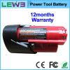 Батарея M12b2 електричюеского инструмента Milwaukee перезаряжаемые резервная