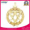 Золотая медаль металла пожалования подарка сувенира изготовленный на заказ