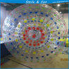 Цветастый раздувной шарик Zorb с материалом PVC 1.0mm для игр парка воды