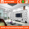 Wall preto e branco Paper para Decorative Material
