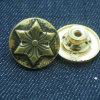 Кнопки шикарных курток способа цветка латунные