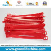Sostenedor suave promocional accesorio de la correa de PVC de la etiqueta de bagaje en rojo