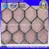 Maille hexagonale galvanisée de poulet de fil enduite par PVC