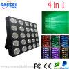 Lumières chaudes d'effet d'étape de la vente RVB 25*30W LED Matrix