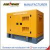 Kraftstoffeinsparungperkins-Dieselgenerator mit schalldichtem Kabinendach