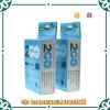 Rectángulo de papel de la crema dental de encargo, rectángulo de empaquetado de la crema dental