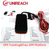 Automobile GPS Tracker in Wide Input Voltage Range 9-40VDC (MT08A)