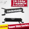 van Road Light Bar 3W CREE Single Row Super Slim LED Light Bar