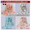 Stola della signora Butterfly Print Neck Shawl Scarve della sciarpa di modo (OS1018)