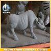 Le sculture animali comerciano la mucca all'ingrosso domestica della decorazione