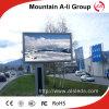 Signe polychrome extérieur fixe du vidéo DEL de l'installation P16