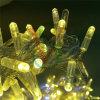 luzes profissionais da corda do Natal do diodo emissor de luz do uso ao ar livre de 220V 10m 100LED
