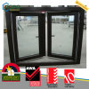 Casement ventanas de PVC con laminado de Cine Cumplir con As2047 AS / NZS2208 y As1288