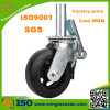 Rubber preto Wheels Scaffolding Caster para Construction